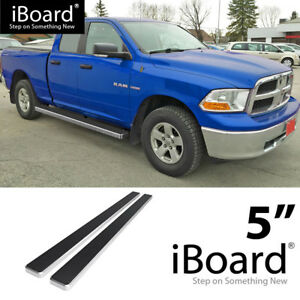 Wheel To Wheel Running Boards >> Detalles Acerca De Wheel To Wheel Running Boards 5 Inches Fit 09 18 Ram 1500 Quad Cab 6 5ft Bed
