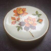 Vintage 1950's Melissa Compact, Orange Roses