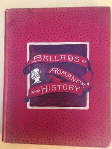 1st edition Ballads of Romance and History (1887) By Coolidge, Susan beautiful