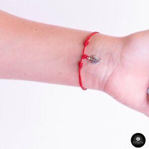 Kavak - Handmade Silver Plated hanging Leaf Adjustable Women's Bracelet