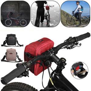 Cycling Bags Bicycle Bike Handlebar Bag Front Frame Tube Waterproof Front Basket Ebay