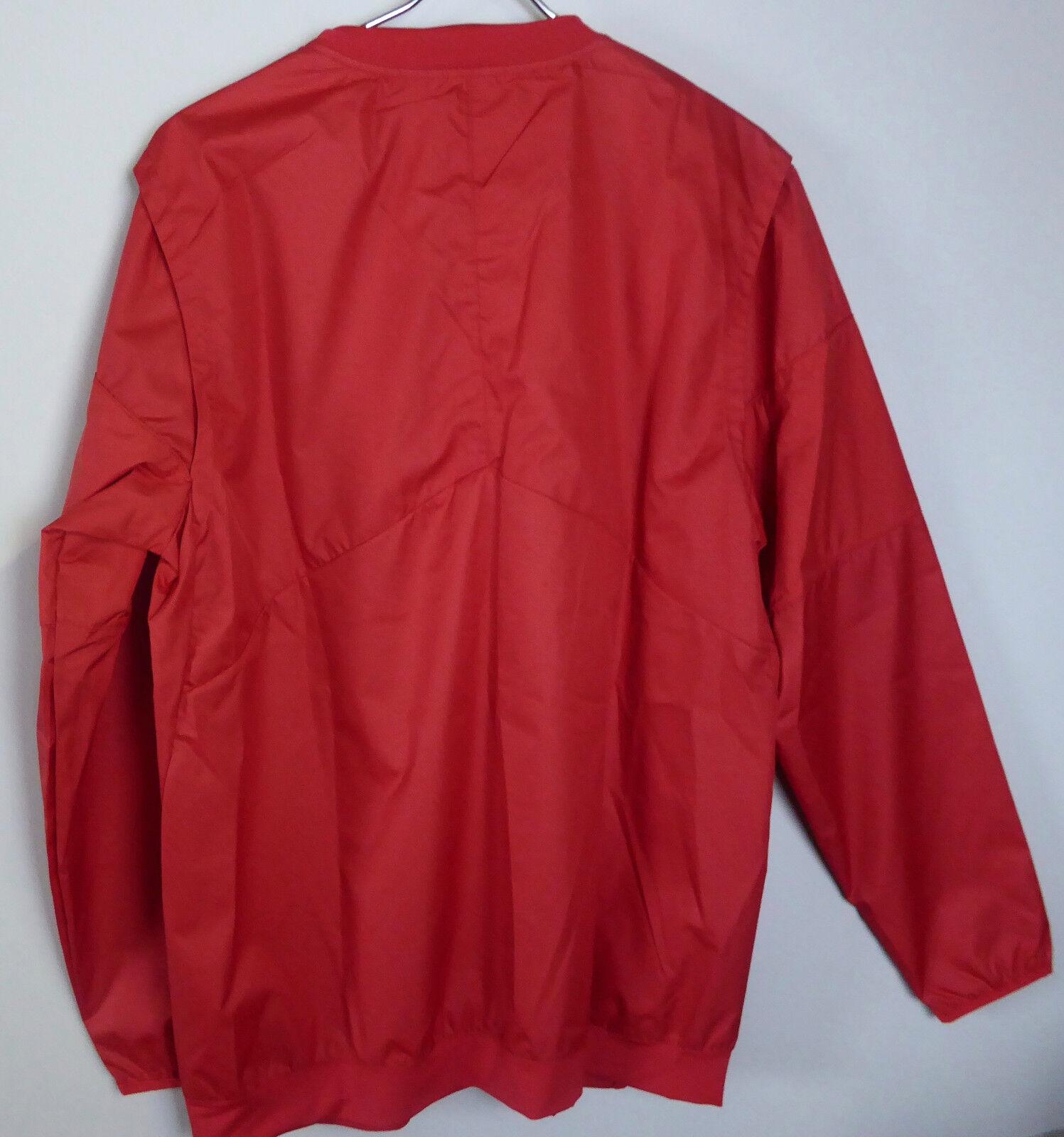 5b72c80294378 Buy Nike Mens L Ohio State Buckeyes OSU Lockdown Sideline Quarter Zip Red  online