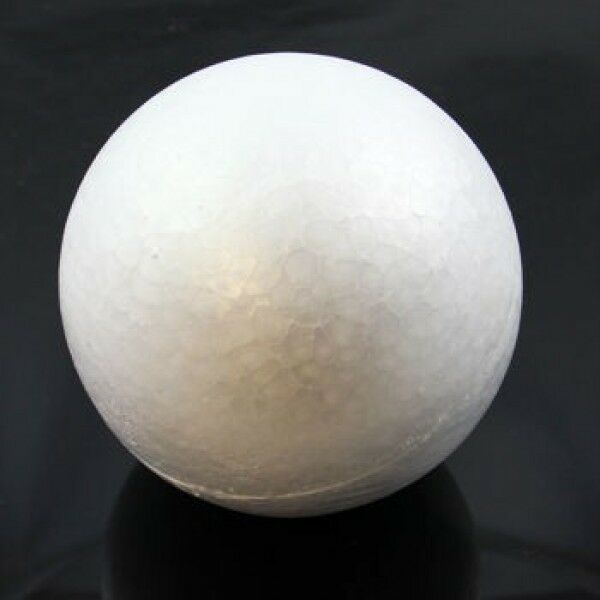 150mm (15cm) SOLID ROUND POLYSTYRENE BALLS STYROFOAM SWEET TREE CRAFT ART 6 INCH