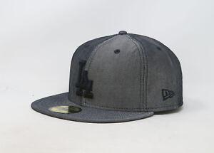 New Era 59Fifty Hat Mens MLB Los Angeles Dodgers Light Navy Blue ... 85a71049faba