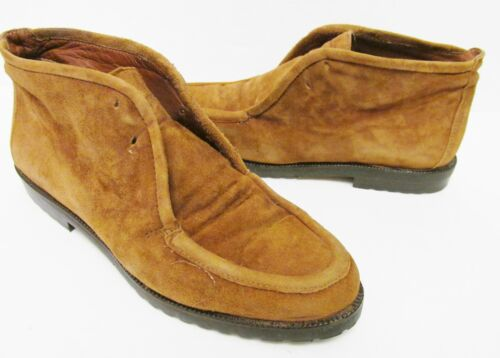 Joan & David Leather/Suede Lace Up Desert Chukka A