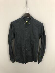 PRETTY-GREEN-Shirt-Size-Small-Black-Great-Condition-Men-s