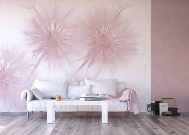 Giant Wall Mural Photo Wallpaper Dandelion Flower Living Room Decor Art 360x254