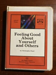 Feeling Good About Yourself Edgar Cayce ARE 1 Audio Cassette Set Booklet 1987