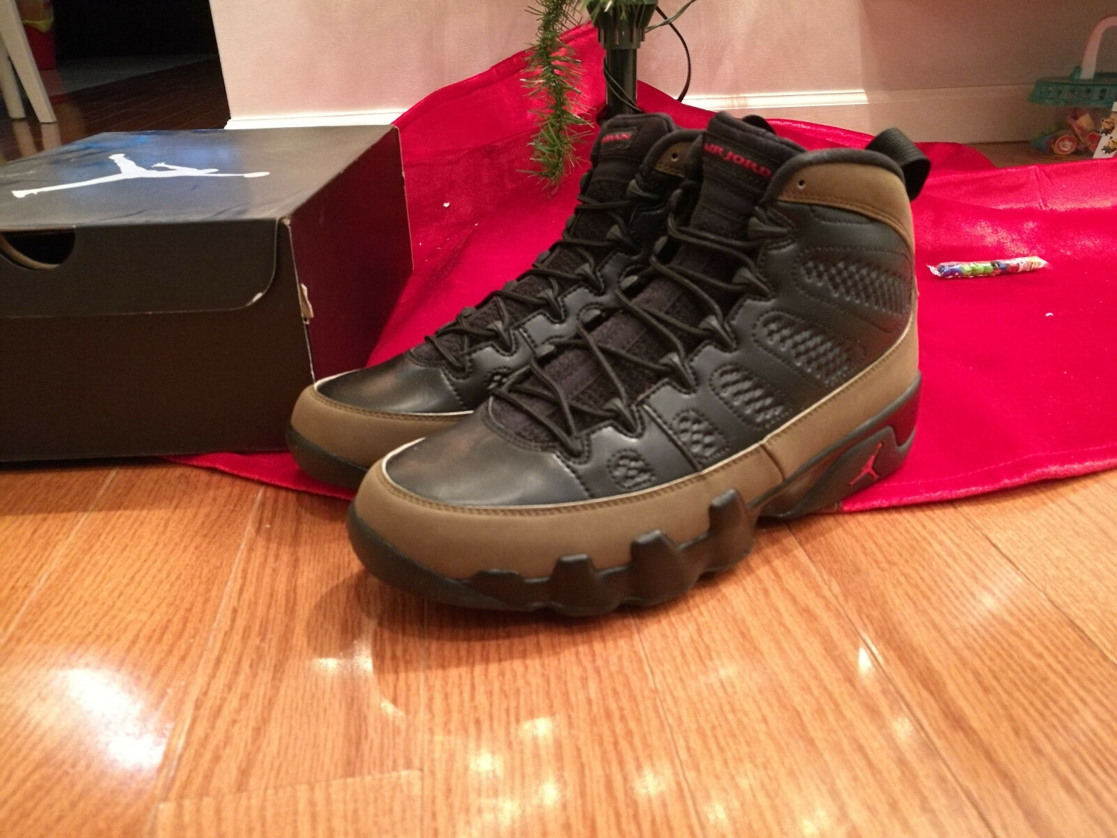 Brand New DS 2018 Nike Air Jordan VI 9 Retro OLIVE OG black varsity red 9