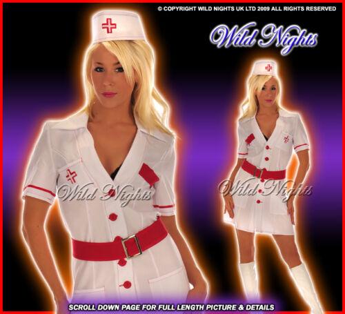 FANCY DRESS BELT SM 8-10 WHITE NURSE DRESS HAT