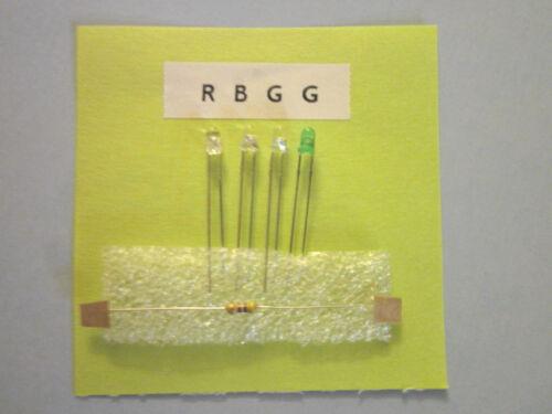 2X Effects Pedal//Stomp Box 3mm Led Bezel Housing Kits Wiring diagram//tool list
