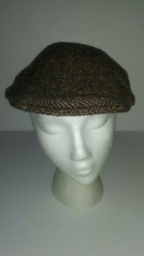 Shandon Donegal Tweed Cap Ireland Brown Newsboy 10