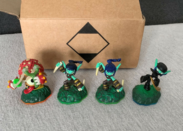 Figurer, Skylanders, Superchargers Stealth Elf Swap…