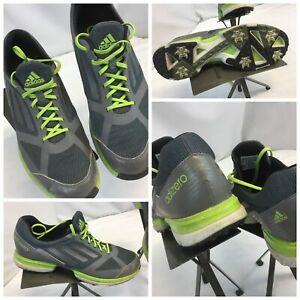 Adidas-Adizero-Golf-Shoes-Sz-9-5-Men-Gray-Excellent-Cond-YGI-G9S-18BH