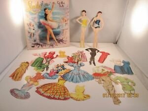 Vintage 1958 Walt Disney Linda Cut Out Dolls - Whitman Publishing