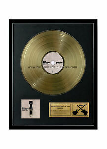 rgm1082-Foo-Fighters-ripete-Silence-SOLITARIO-amp-GRAZIA-COLOR-ORO-DISCO-24K