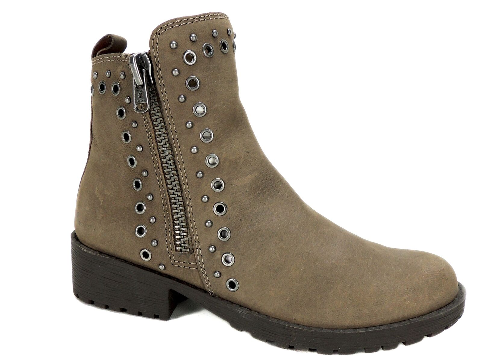 Lucky Brand Women's Hannie Booties Brindle Bridgetown Leather Size 5.5 M
