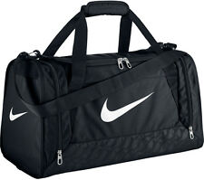 Nike Brasilia Duffel Bag Training Sports gym Travel Bag Small - Black BA4831-001