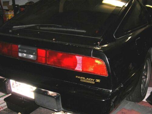 New 1987-1989 Z31 FairLady Z 200ZR JDM Rear Badge Decal RB20DET TURBO ZR 300ZX