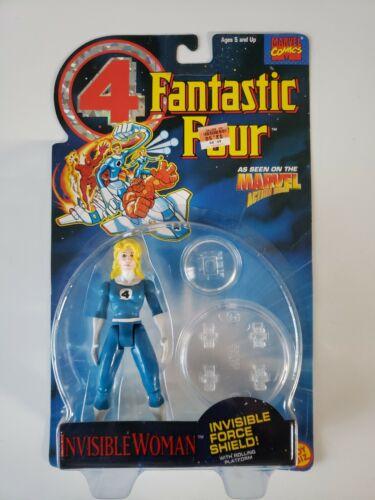 1994 Toy Biz Marvel Comics Fantastic 4 Four Invisible Woman Action Figure