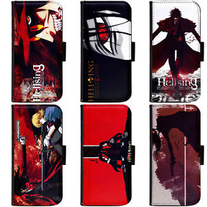 PIN-1-Anime-Hellsing-A-Phone-Wallet-Flip-Case-Cover-A-for-Samsung