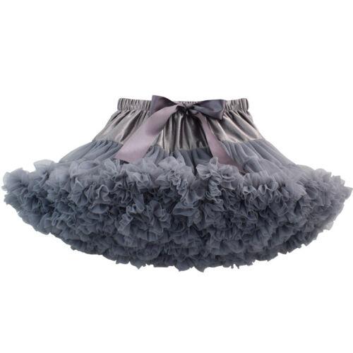 EDLE Mädchen Frauen Röcke Junggesellenabschied Tüllrock Petticoat Ballett Tutu