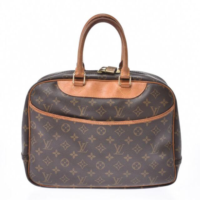 Louis Vuitton Monogram Deauville Boston Bag M47270 Vi0967 For Sale Online Ebay