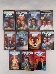 Lot-of-11-QUANTUM-LEAP-TV-Series-Novels-Ace-Boulevard-Corgi-Paperbacks