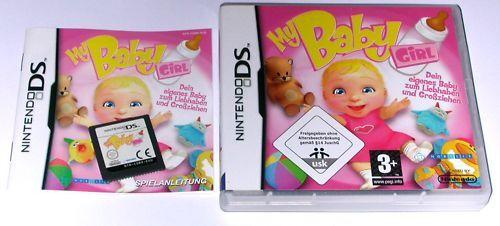 1 von 1 - Spiel: MY BABY GIRL, Mädchen für den Nintendo DS + Lite + Dsi + XL + 3DS 2DS