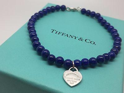 94bc7d53d031 Tiffany   Co Return to Tiffany Silver Lapis Heart Mini Ball Bead 7
