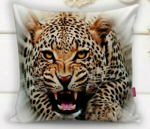 to measure Photo Pillowcase /'Tiger/' Cushion Cover With Motif 3d Photo Print