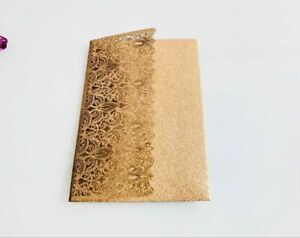 Details About Glitter Laser Cut Wedding Invitation Card Business Conference Invitation