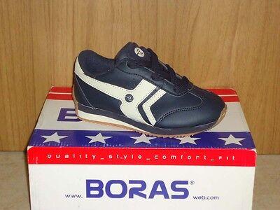 Boras Action US Jr. Sneaker Halbschuhe Jungen Mädchen beige/blau, blau/beige NEU
