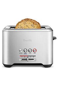 NEW-Breville-BTA720-Lift-amp-Look-Pro-2-Slice-Toaster-Grey