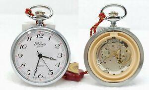 Orologio Perseo ferrovie mechanical montre caliber eta 2801-2 clock pocket watch