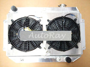 Aluminum-Radiator-Shroud-for-Holden-Torana-HQ-HJ-HX-HZ-Kingswood-V8-Chevy-Auto