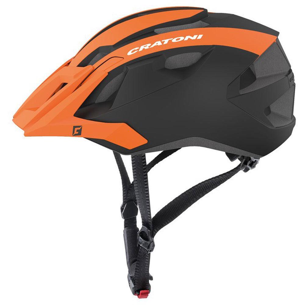 Cratoni Fahrradhelm AllRide MTB Gr. Uni 53-59cm naranja negro negro negro matt Fahrrad 370e88