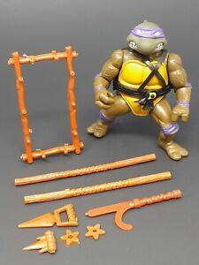 Vtg 1988 TMNT SOFT HEAD DONATELLO 100% Complete Teenage Mutant Ninja Turtles