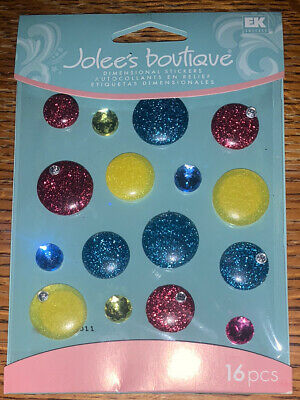 JOLEE/'S BOUTIQUE DIMENSIONAL STICKER PEARL CLUSTERS CABOCHONS