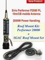 Sirio Performer 2000 Roof Mount Kit: Performer 2000 Antenna And Roof Mount Set