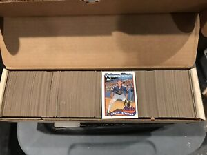 1989 TOPPS Complete Baseball Set (1-792) - BIGGIO, SHEFFIELD, SMOLTZ Rookies