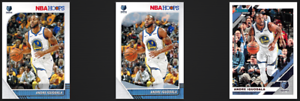 Andre-Iguodala-Lot-of-3-Cards-2019-20-Donruss-NBA-Hoops-Winter-Snowflakes-Grizz