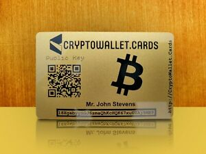 Personalized-BTC-BITCOIN-Crypto-Wallet-Card