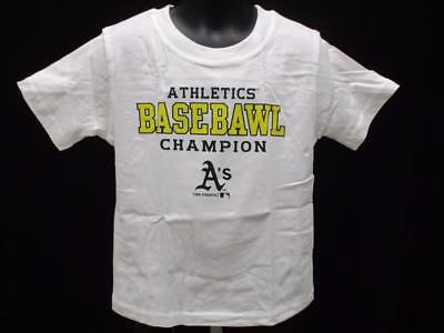 Fanartikel Neu Oakland A's Athletics Kleinkind Größen 2t-3t-4t Lustiges Shirt