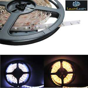 5m 3528 led strip lichtschlauch lichtleiste 30 m 12v ip20 oder ip65 mit netzteil ebay. Black Bedroom Furniture Sets. Home Design Ideas