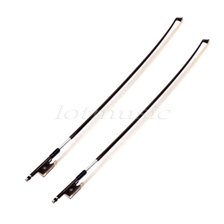 2pcs carbon fiber Violin Bow Stunning Bow 1 4 Violin Bow-Coffee