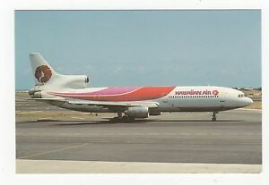 Hawaiian-Air-L-1011-Tristar-50-Aviation-Postcard-A675