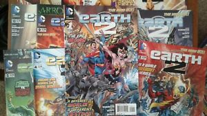 DC-COMICS-THE-NEW-52-EARTH-2-VARIOUS-ISSUES
