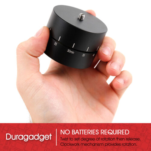 Rotating 360 Degrees Time Lapse Tripod Adapter for Brinno TLC100TLC200 Camera