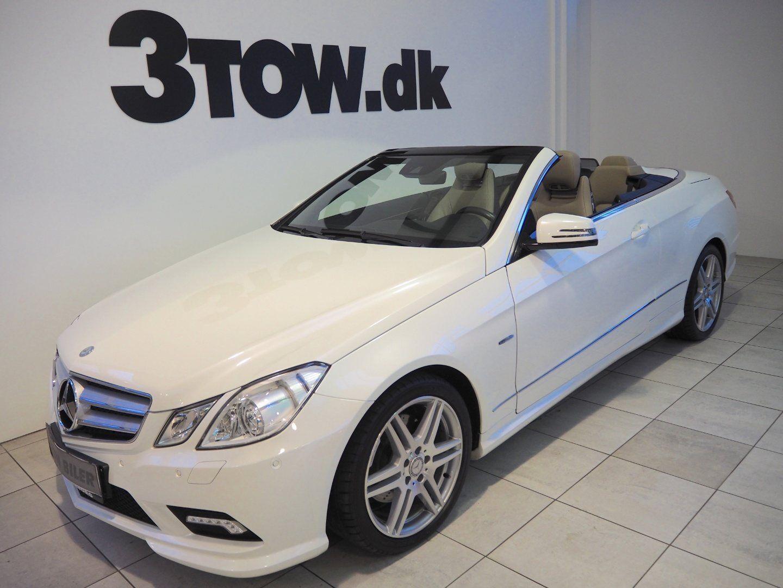Mercedes E350 3,5 CGi Cabriolet aut. 2d - 399.980 kr.